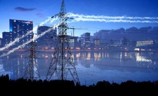 Urban Electrification in Blue